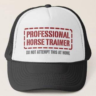 Professional Horse Trainer Trucker Hat