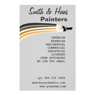 Professional House Painter Edit Hitting Customise 14 Cm X 21.5 Cm Flyer