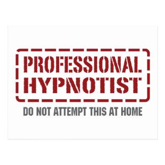Professional Hypnotist Postcard
