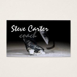Professional Ice Hockey Coach / Player Card