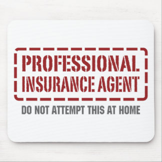 Professional Insurance Agent Mouse Mat
