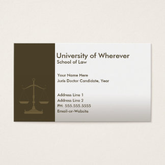Candidate business cards business card printing zazzle uk for Law school business cards