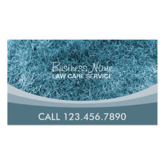 Professional Lawn Care Business Card