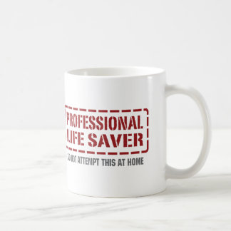 Professional Life Saver Coffee Mugs