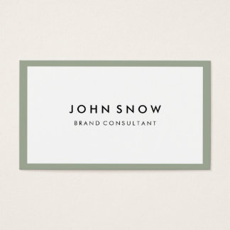Professional Luxe Business Card