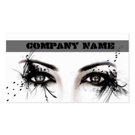 Professional Make-Up Artist / Makeup Business Card