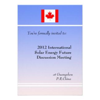 Professional meeting invitation announcement