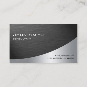 Black business cards business card printing zazzle uk professional metal elegant modern plain black business card colourmoves