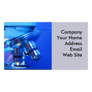 Professional Microscope Double-Sided Standard Business Cards (Pack Of 100)