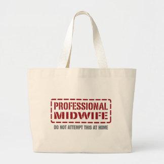 Professional Midwife Jumbo Tote Bag