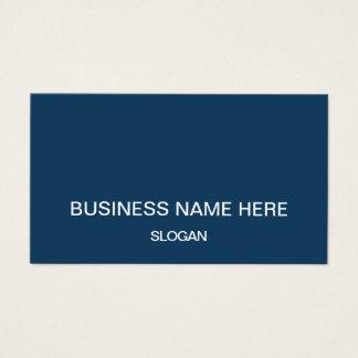Professional minimalist company business cards