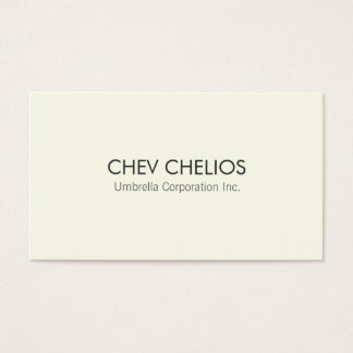 Professional Modern Business Card