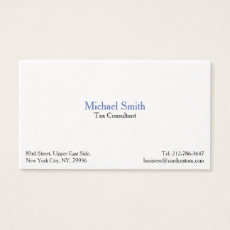 Professional Modern Thick Premium Business Card