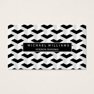 Professional Monochrome Business Card