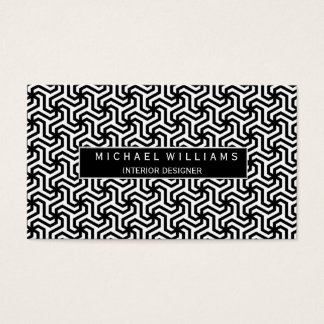 Professional Monochrome Smart Business Card