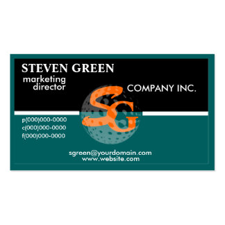 Professional Monogram Business Cards