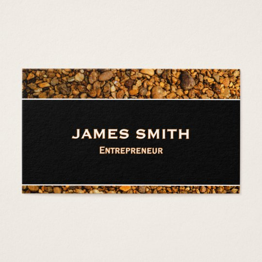Professional&Natural Finish Business Card