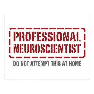 Professional Neuroscientist Postcard