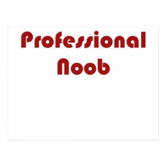 Professional Noob Postcard