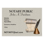 PROFESSIONAL NOTARY PUBLIC Business Card
