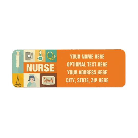 Professional Nurse Iconic Designed