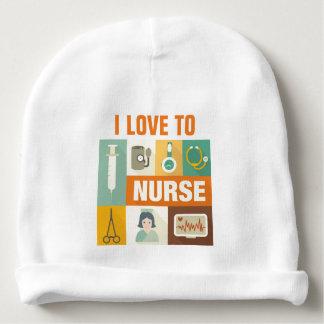 Professional Nurse Iconic Designed Baby Beanie