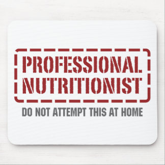 Professional Nutritionist Mouse Mat