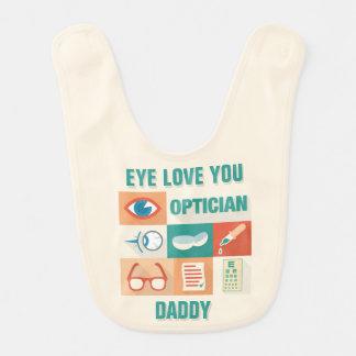 Professional Optician Iconic Design Bib