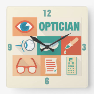 Professional Optician Iconic Design Wallclock