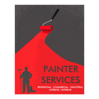 Professional Painter Flyer