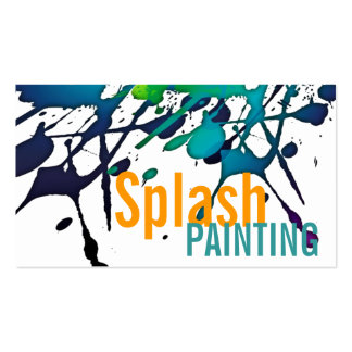 Professional Painting Painters Graphic Artist Pack Of Standard Business Cards