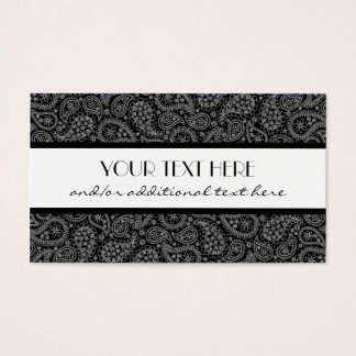 Professional Paisley Business Card