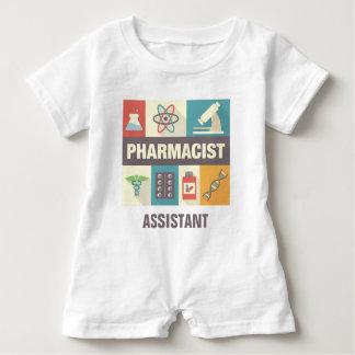 Professional Pharmacist Iconic Designed Baby Bodysuit