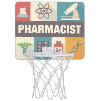 Professional Pharmacist Iconic Designed Mini Basketball Hoop
