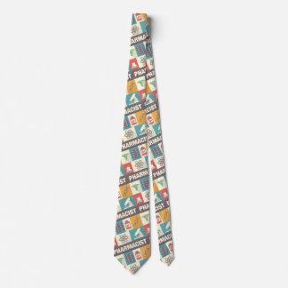 Professional Pharmacist Iconic Designed Tie