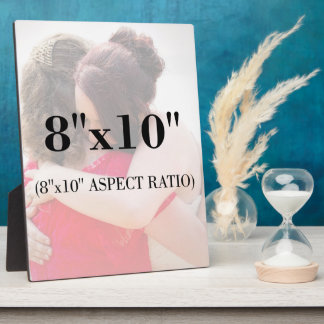 Professional Photo Template 8 x 10 Aspect Ratio Photo Plaques