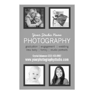 Professional Photographer Business Handout 14 Cm X 21.5 Cm Flyer