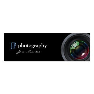 Professional Photographer Camera Lens Business Card Template