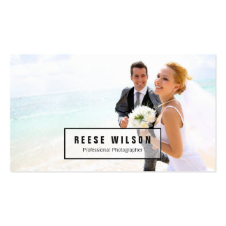 Professional Photographer Photography Pack Of Standard Business Cards