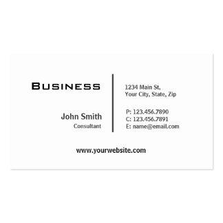Professional Plain Elegant Modern Computer Repair Pack Of Standard Business Cards