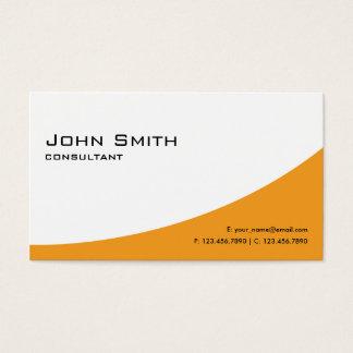 Professional Plain Orange Elegant Modern Computer