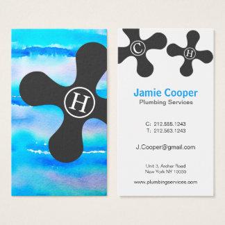 Professional Plumbing Business Card