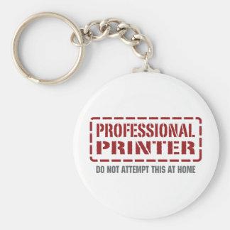 Professional Printer Key Chain