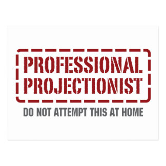 Professional Projectionist Postcard