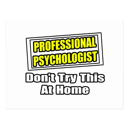 Professional Psychologist...Joke Postcard