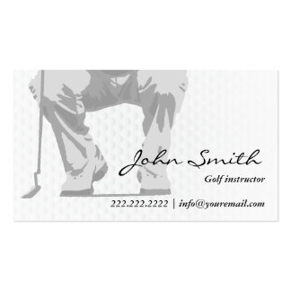 Professional Putt Golf Instructor Pack Of Standard Business Cards