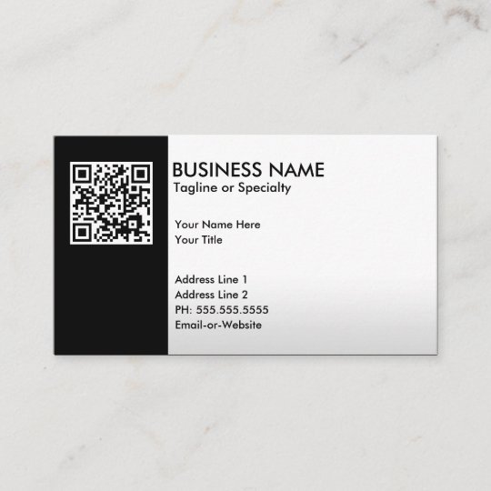 Professional Zazzle Business Card Qr uk co Code officially