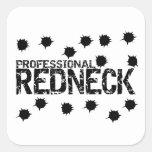 Professional Redneck Bullet Hole