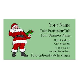 Professional Santa Business Card