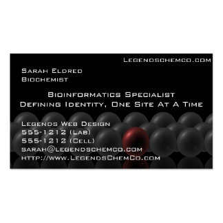 Professional Scientist Business Card Science